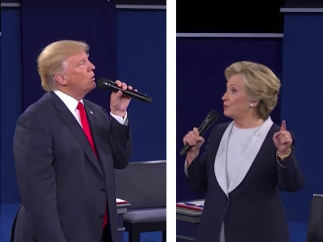 Segundo debate Hillary vs Trump 2016