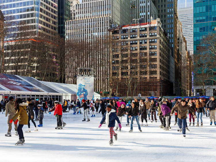 The Rink at the Bank of America Winter Village at Bryant Park