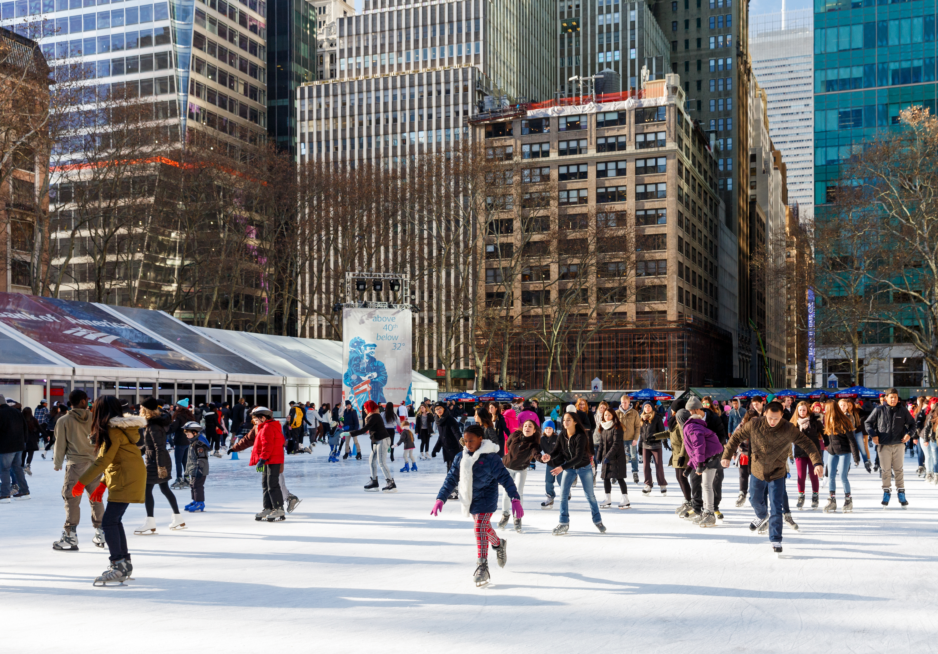 best ice skating lessons in nyc this winter