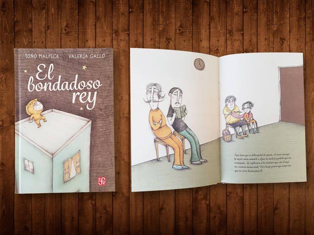Libro para niños El bondadoso rey