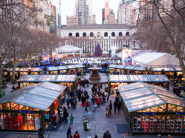 Here's the vendor list for the Bank of America Winter Village at Bryant Park