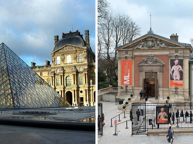 Musées Louvre/Luxembourg