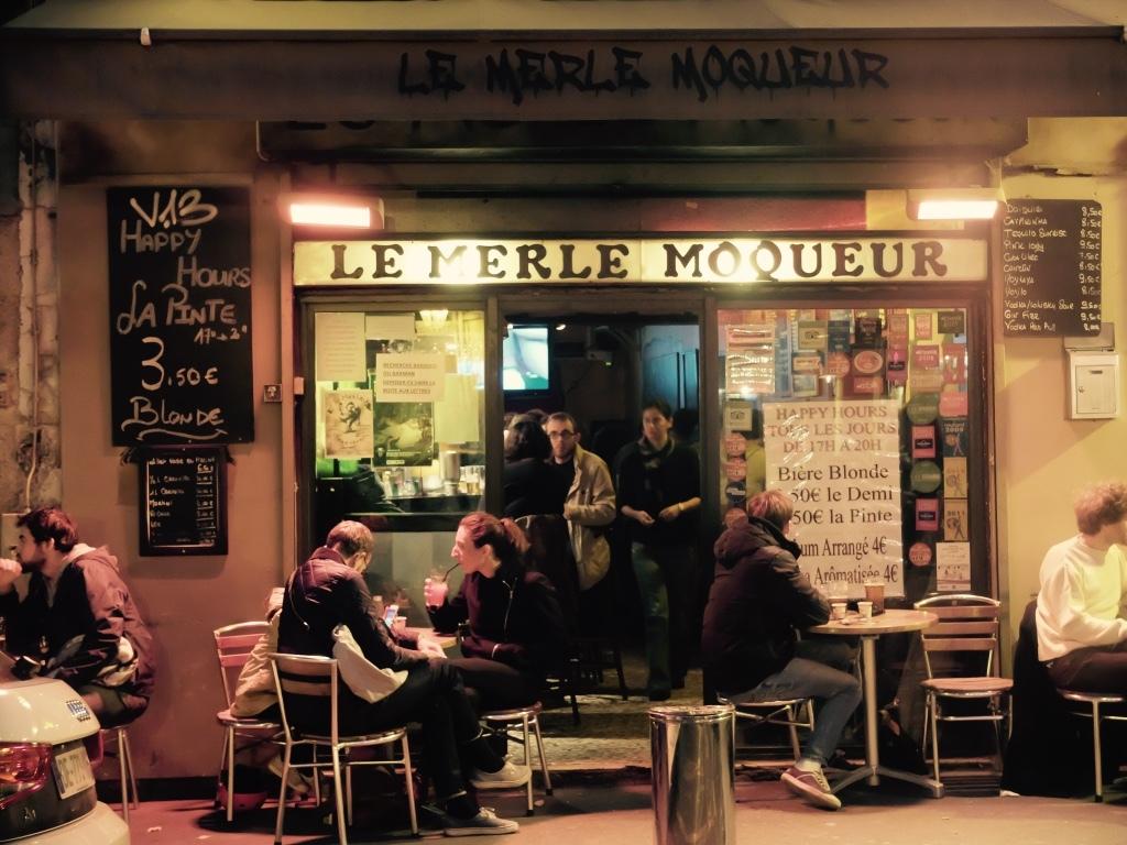 Le Merle Moqueur