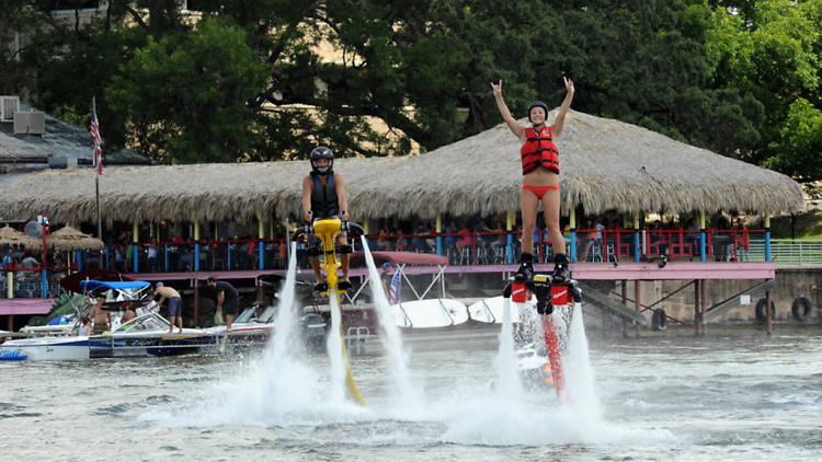 Fly Lake Austin