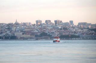Amanhecer em Lisboa