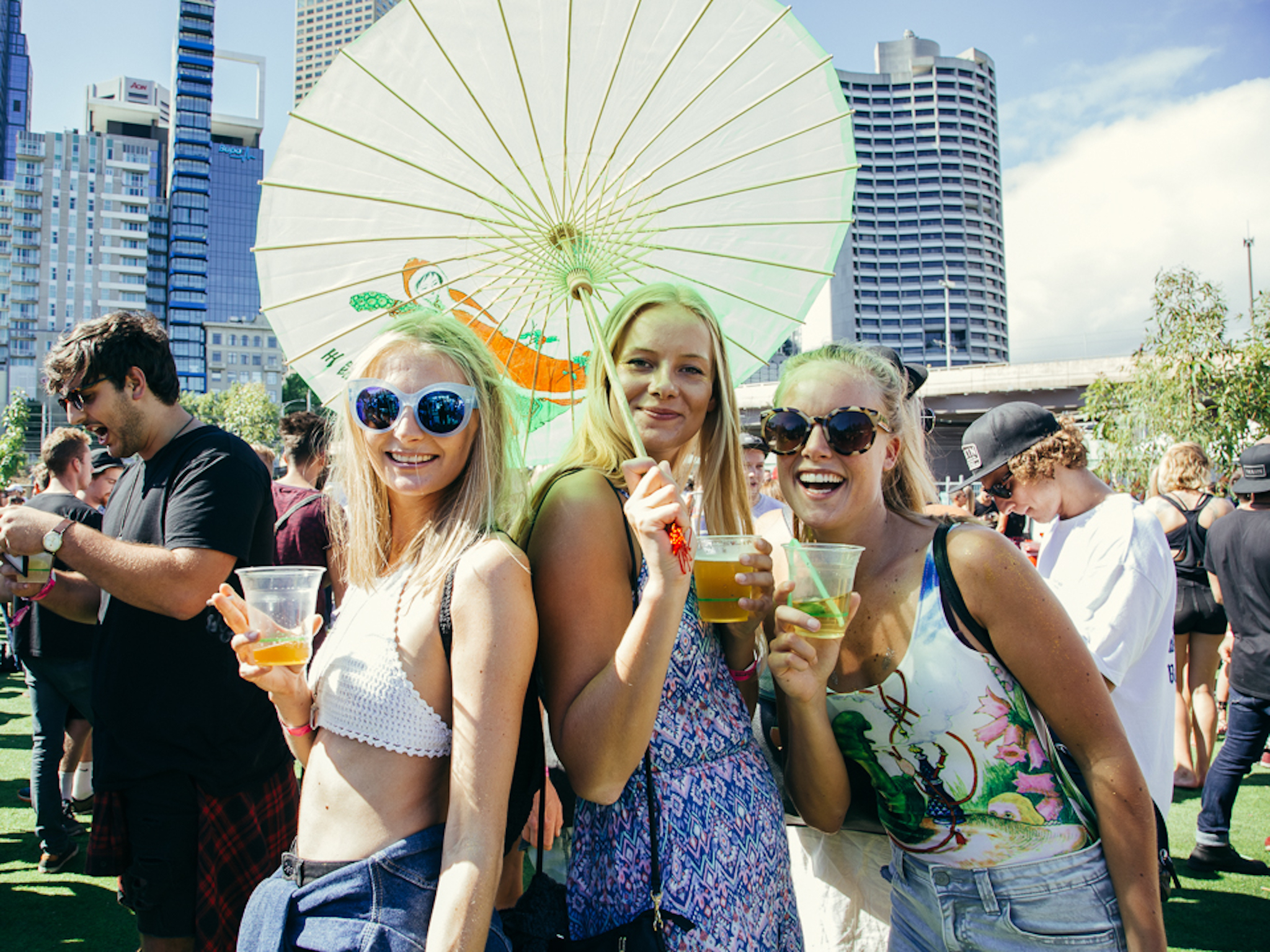 Where to party on New Year's Day in Melbourne