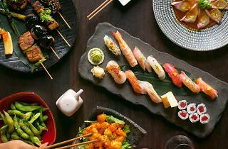 Sake restaurant and bar