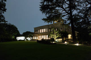 東京都庭園美術館 夜間開館