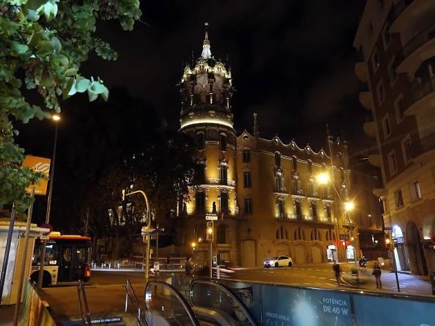 Portes obertes a la Torre Andreu, La Rotonda