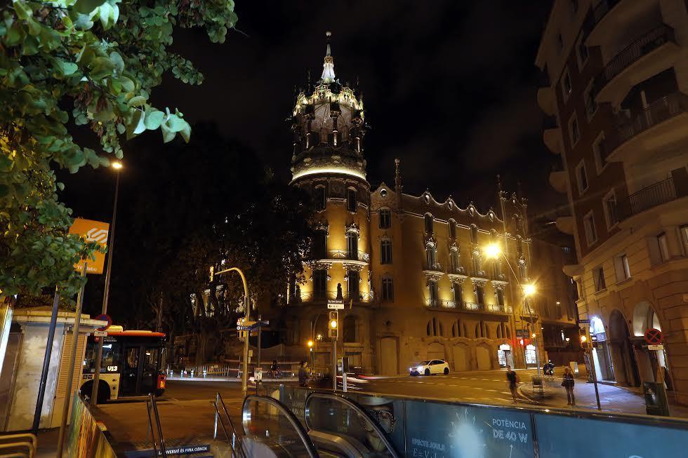 Puertas abiertas a la Torre Andreu, La Rotonda