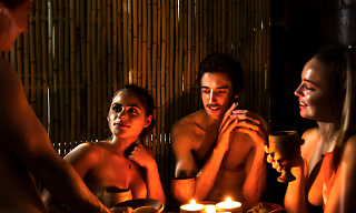 Bums on seats! The pop-up naked restaurant is becoming permanent