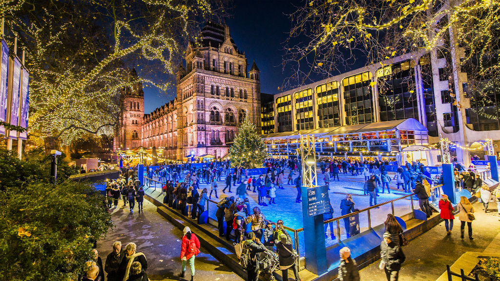 Win tickets for an exclusive skate at the Natural History Museum