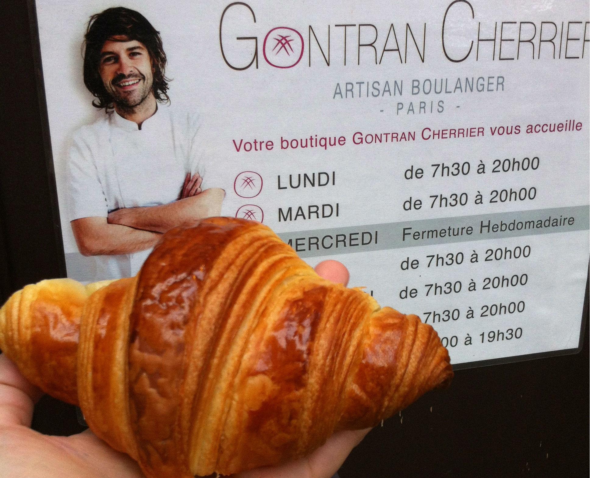 Gontran Cherrier best croissants
