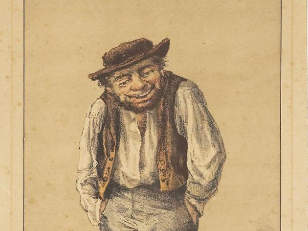 O Soberano! Litografia de Raçhael Bordallo Pinheiro