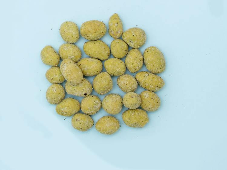Amendoim com Wasabi