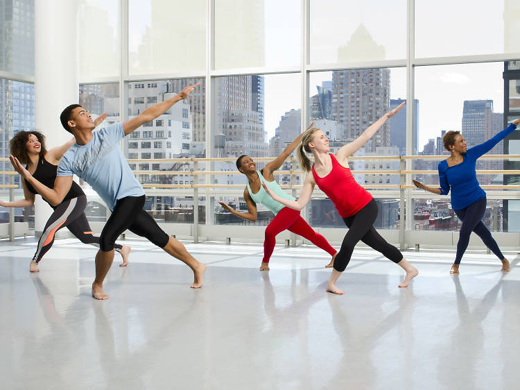 Absolute Beginner Horton at Ailey Extension