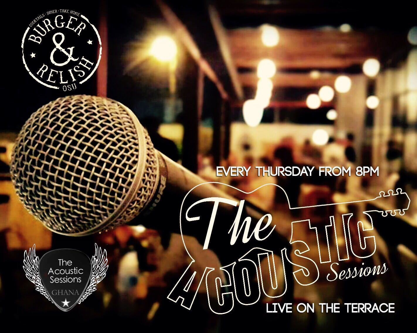 Thursday | The Acoustic Session at Burger & Relish