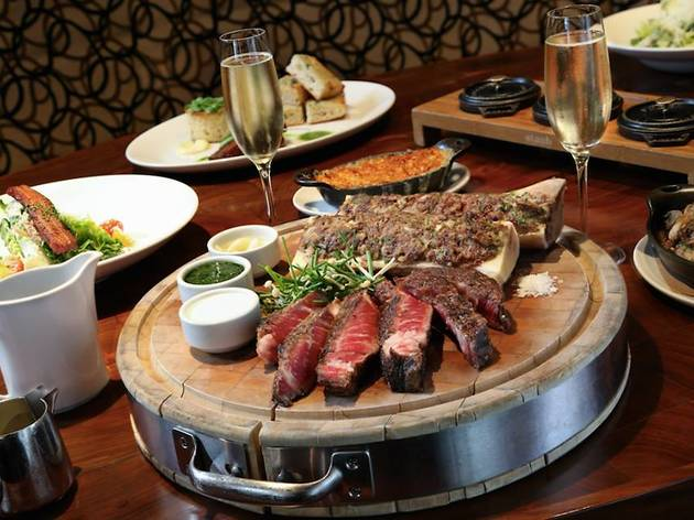 Table 23 at Michael Jordan's Steak House