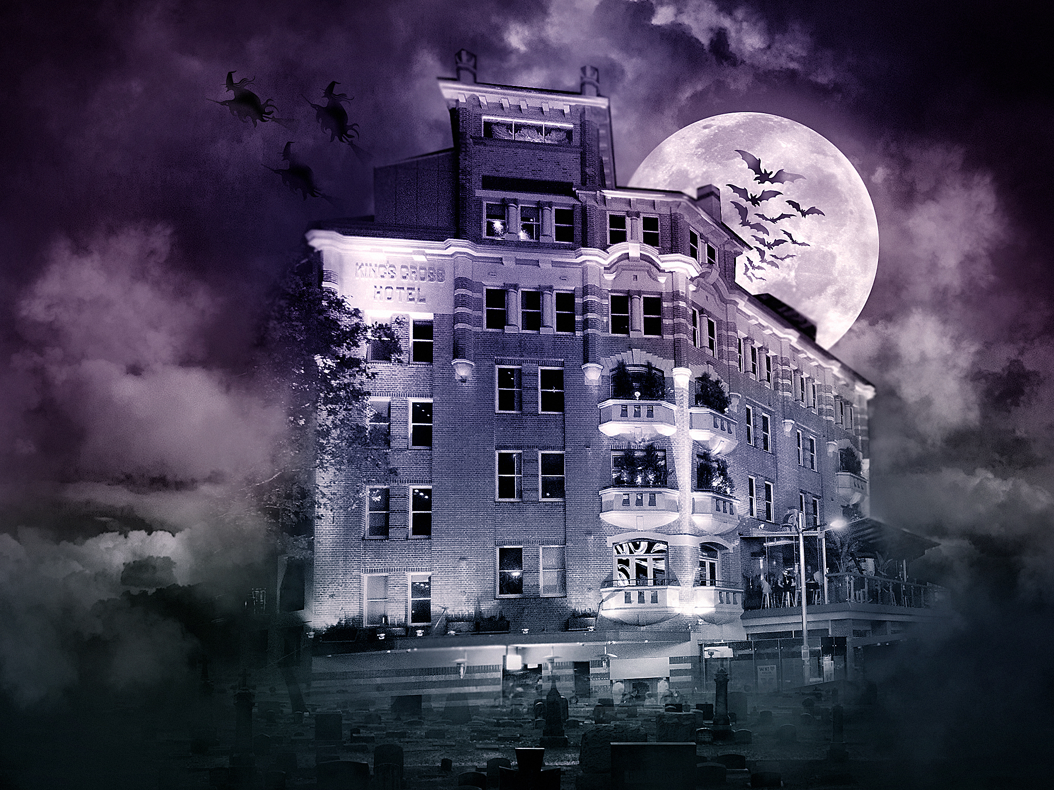 Halloween at Kings Cross Hotel