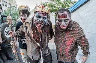 Charity Zombie Walk 2016