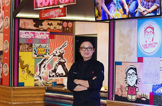 Luke Nguyen at his pop up restaurant at The Star