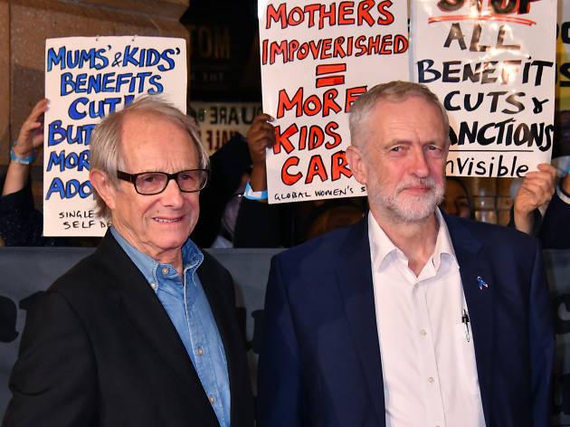 Meet London's latest red-carpet star… Jeremy Corbyn