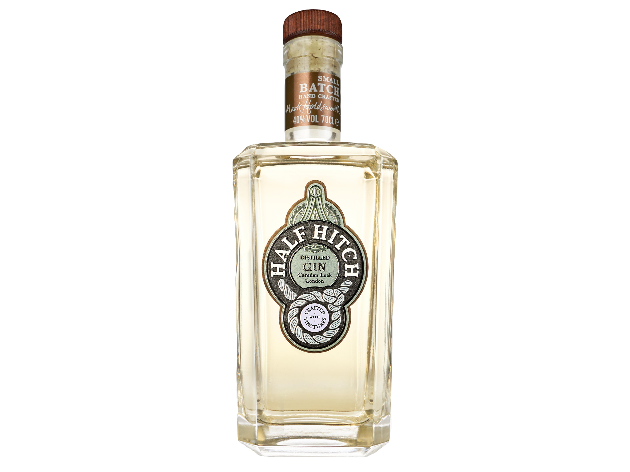 London's best gin, half hitch