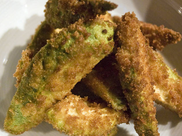 A Holloway chicken shop is serving avocado fries to attract a classier clientele