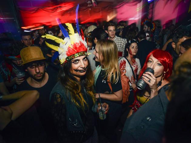 Ace Halloween parties in London