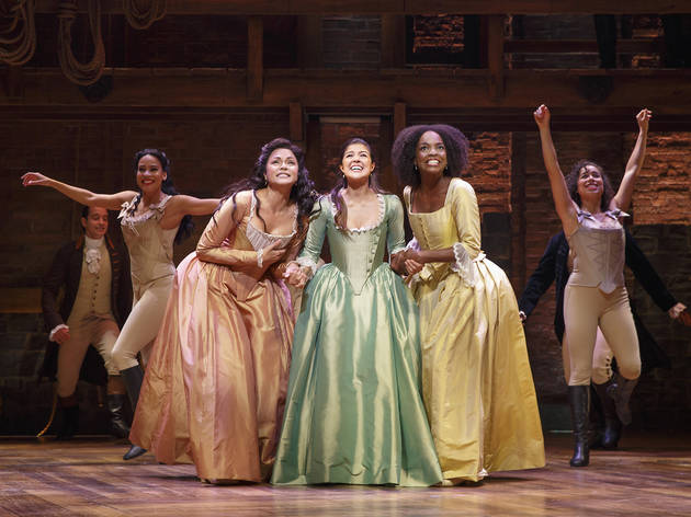 'Hamilton' Chicago's Schuyler sisters will help you register to vote today