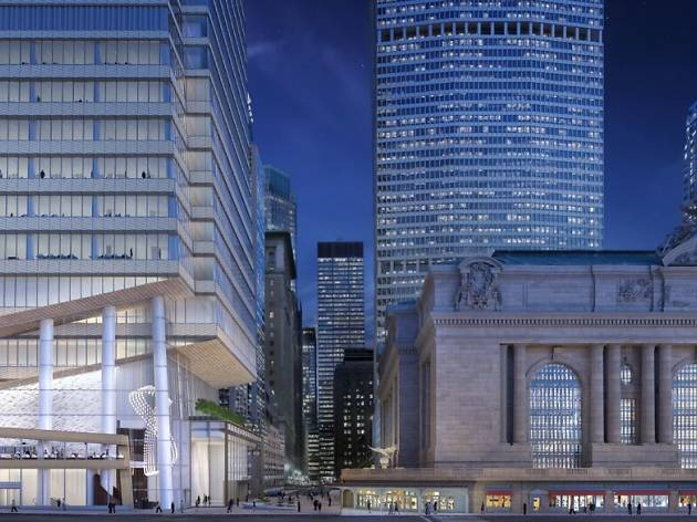 See the new underground tunnel entry into Grand Central