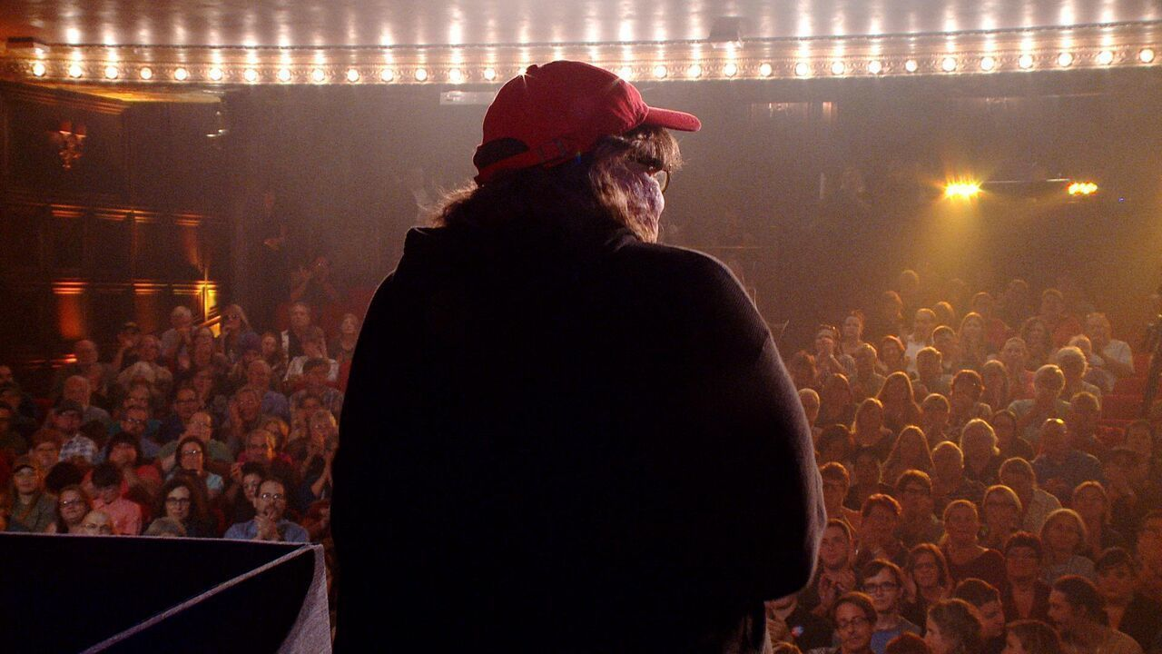 Michael Moore cried when he voted for Obama (and other revelations from last night's screening)