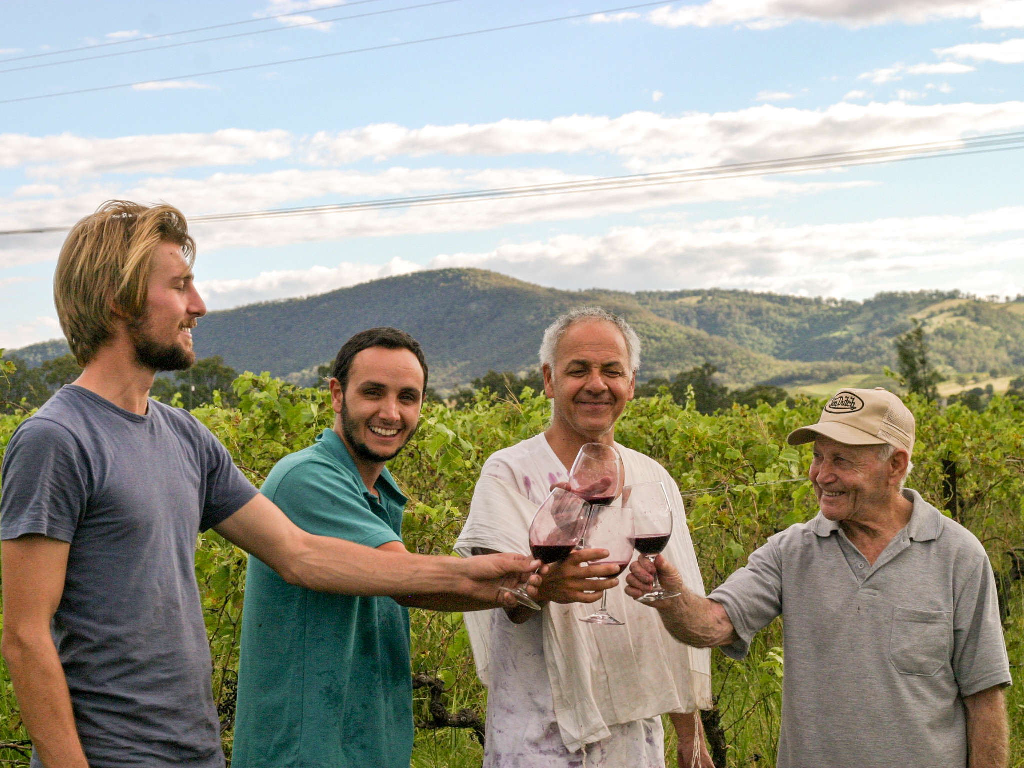 Winemakers at Harkham Wines