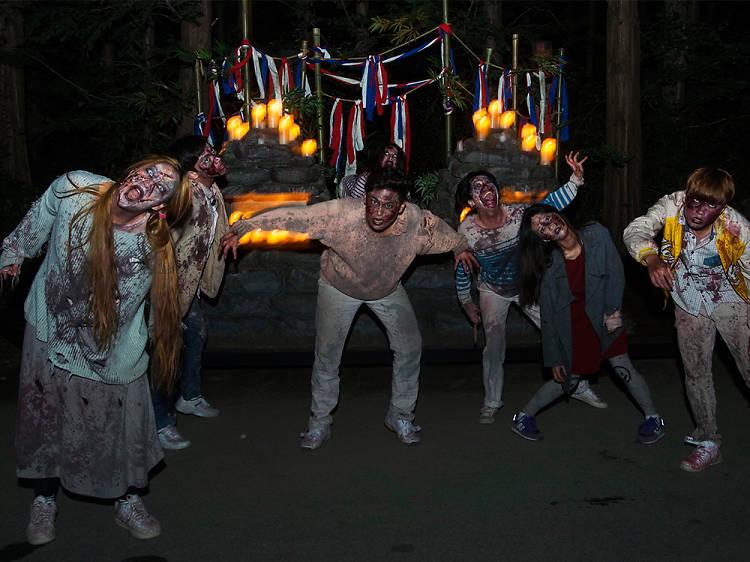놀이공원에서 하는 미친 할로윈 축제!