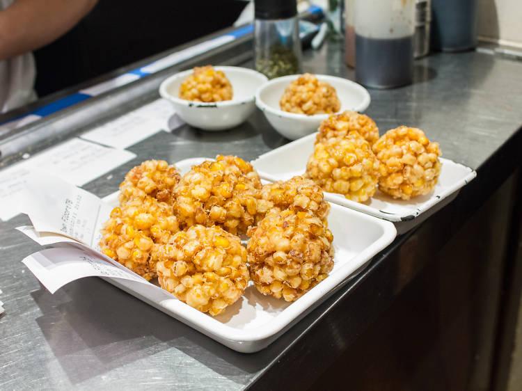 Sweet corn tempura - Yardbird
