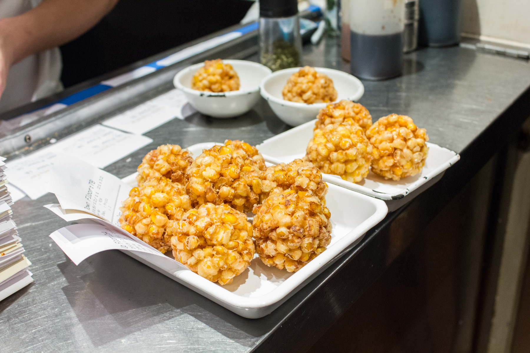 Sweet corn tempura - Yardbird