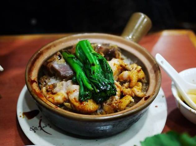 Chinese sausage clay pot rice - Kwun Kee