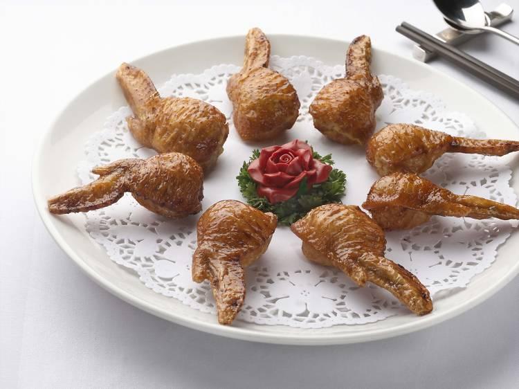 Bird's nest chicken wings - Celebrity Cuisine