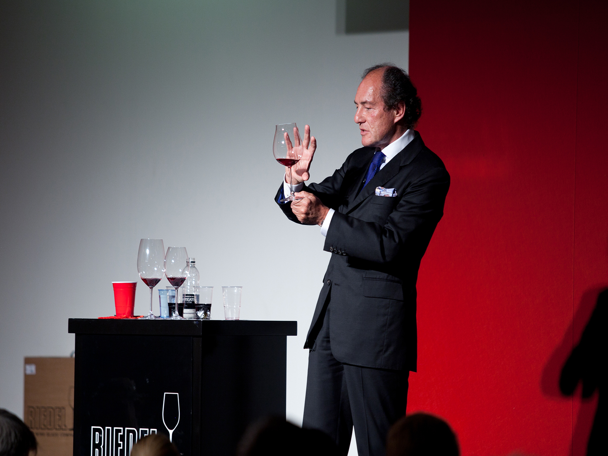 Discover the key to wine enjoyment with Georg J Riedel