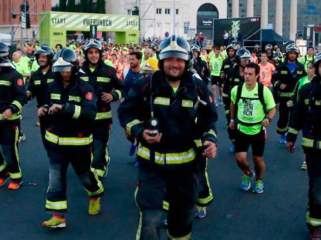 Cursa Bombers Barcelona 2017 (Firefighters Race)
