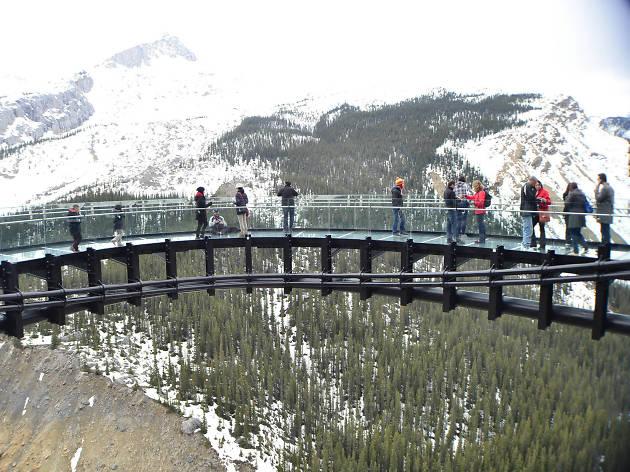 Glacier Skywalk, Jasper