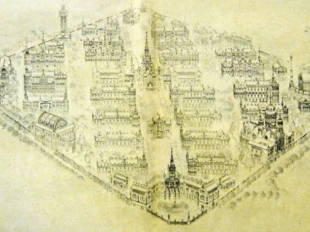 El projecte inacabat de Domènech i Montaner