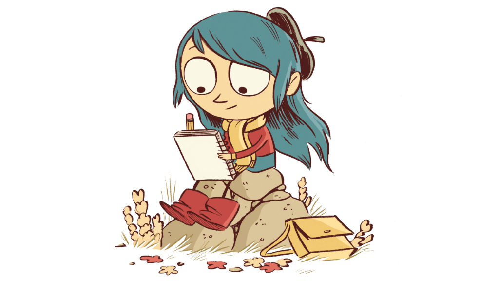 Hilda and the Troll PB title page from Orbital Comics, 2016