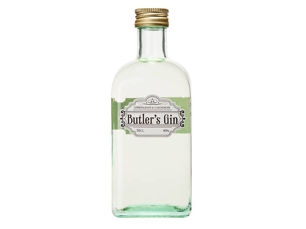 best gin in london, butler's gin
