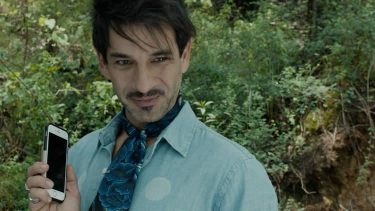 Miguel Rodarte en la película Macho