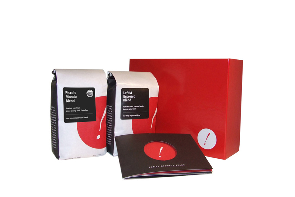 For the caffeine craver: Gimme! Coffee Brew & Blend gift box