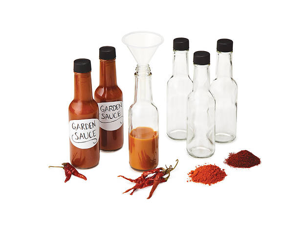 For the chile head: Make Your Own Hot Sauce kit