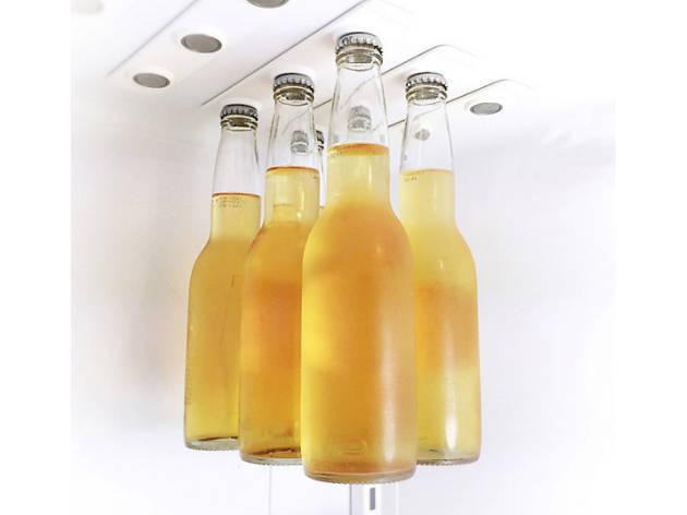 For the beer drinker: BottleLoft magnetic beer bottle strips
