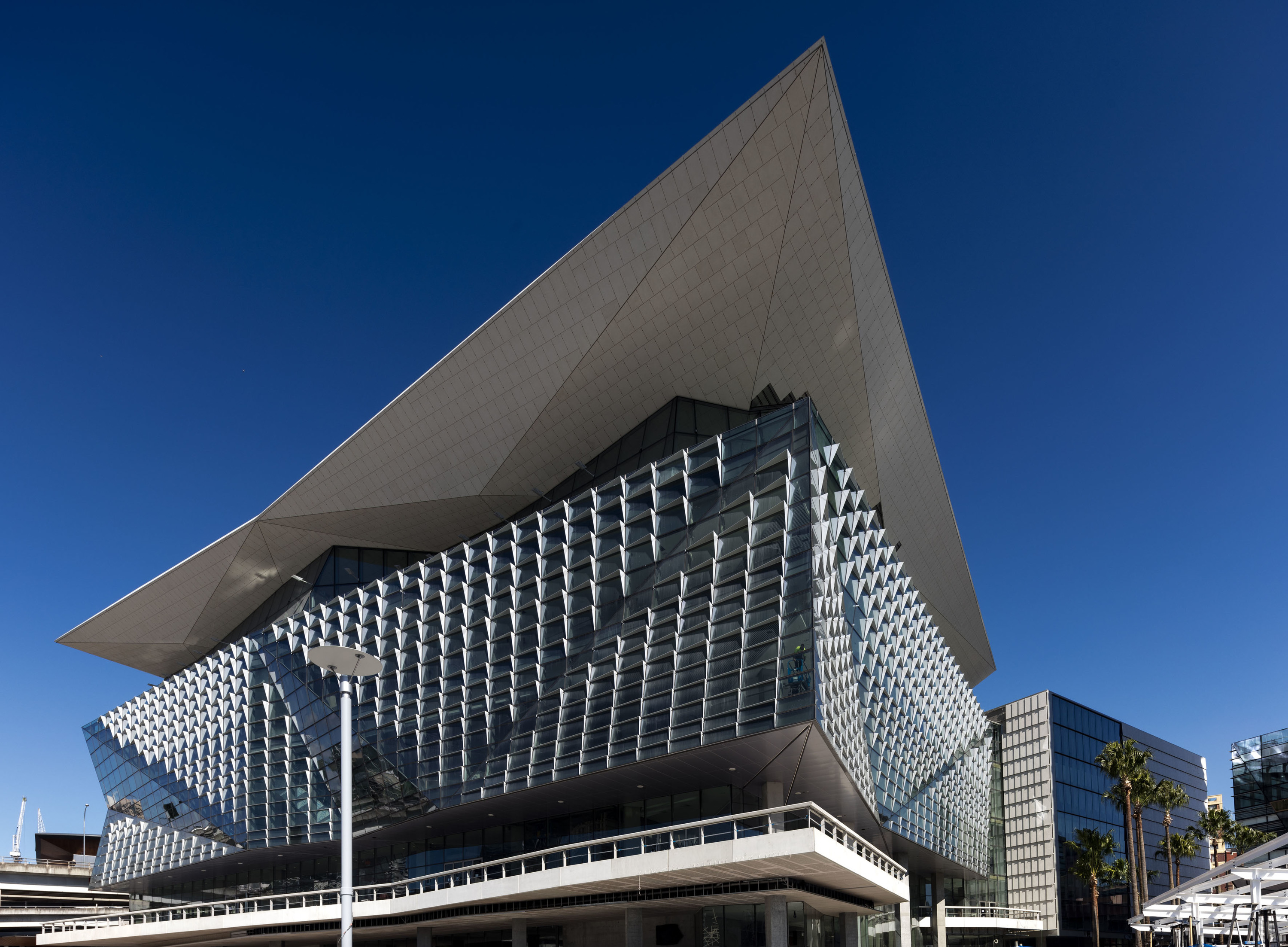 Be one of the first people inside the new ICC building in Darling Harbour