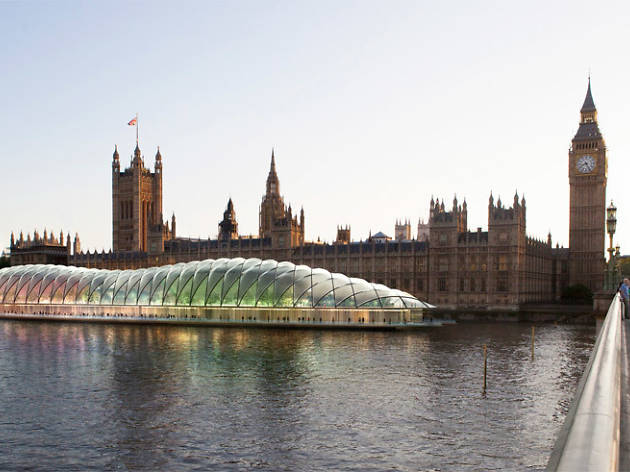 Check out the designs for a floating Parliament in a giant bubble on the Thames